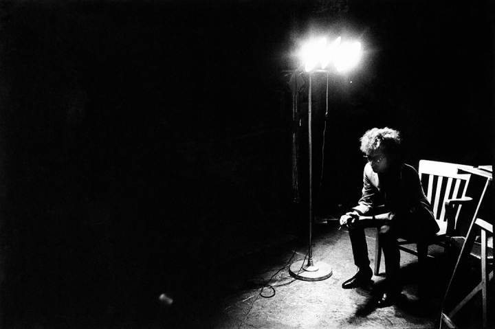 Bob Dylan screen test, The Factory, NYC, 1966