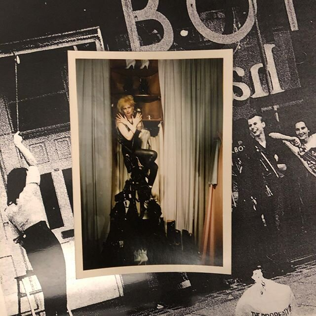 BOY London heritage project | Archive catalogues and a test print of Vivienne Westwood, photographed by Will English in 1975 🖤  #gothshop #gothshopinc #gothshopart #boylondon #stephanerayner #heritage #archive #viviennewestwood #willenglish #kingsroad #80s #subculture #culture #history #london