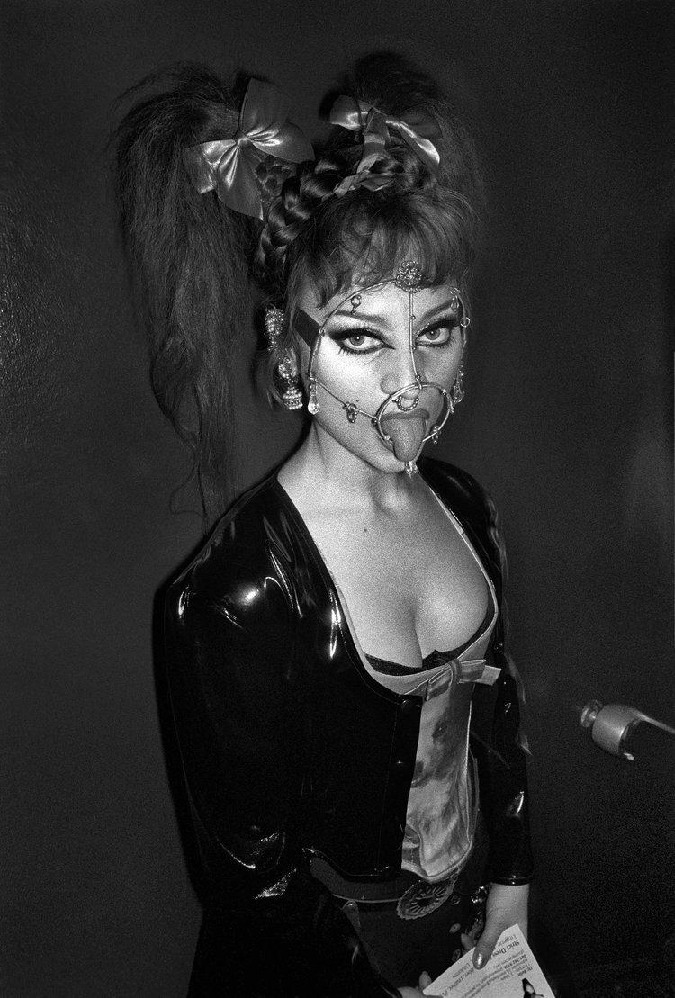 Derek Ridgers. Christine, Torture Garden, 1997.